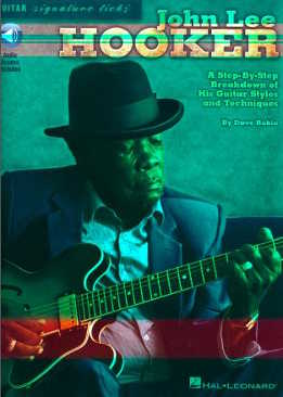 Dave Rubin - John Lee Hooker - Guitar Signature Licks