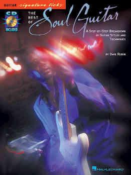 Dave Rubin - The Best Of Soul Guitar - Guitar Signature Licks