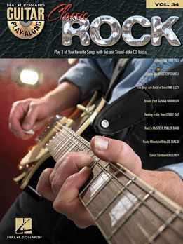 Guitar Play Along Vol. 34 - Classic Rock