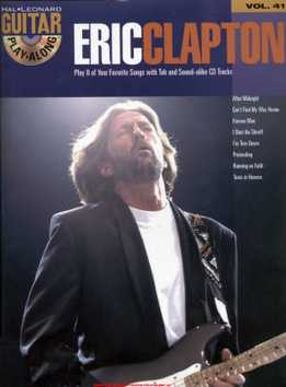 Guitar Play-Along Vol. 41 - Eric Clapton