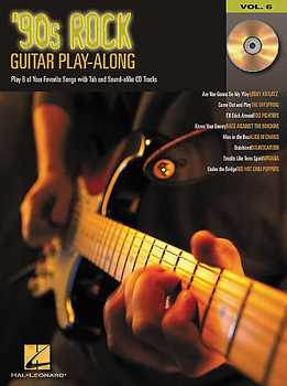Guitar Play-Along Vol. 6 - 90s Rock