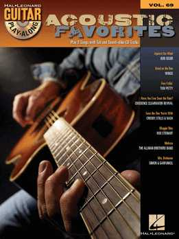 Guitar Play-Along Vol. 69 - Acoustic Favorites