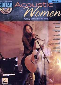 Guitar Play-Along Vol. 87 - Acoustic Women