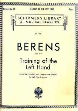 Hermann Berens - Traning Of The Left Hand (Piano)