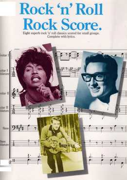 Rock 'n' Roll Rock Score (Full Band Score)
