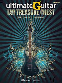 Ultimate Guitar Tab Treasure Chest - 50 Great Rock Guitar Transcriptions