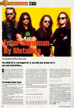 Dave Kilminster - Metallica - Enter Sandman