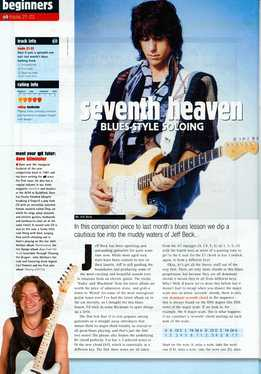 Dave Kilminster - Seventh Heaven - Blues-Style Soloing
