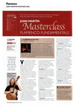 Eric Roche - Juan Martin - Masterclass. Flamenco Fundamentals
