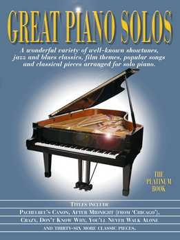 Great Piano Solos. The Platinum Book