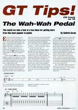 Guthrie Govan - The Wah-Wah Pedal