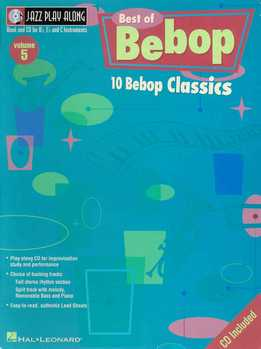 Jazz Play-Along Vol. 05 - Best Of Bebop