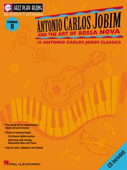 Jazz Play-Along Vol. 08 - Antonio Carlos Jobim
