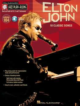 Jazz Play-Along Vol. 104 - Elton John