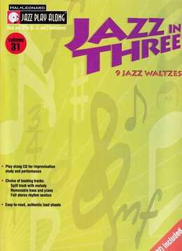 Jazz Play-Along Vol. 31 - Jazz In Three