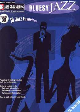 Jazz Play-Along Vol. 35 - Bluesy Jazz