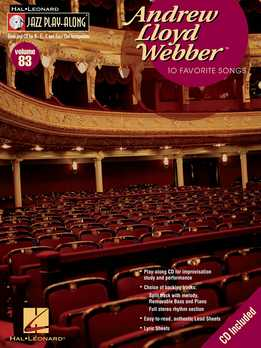 Jazz Play-Along Vol. 83 - Andrew Lloyd Webber