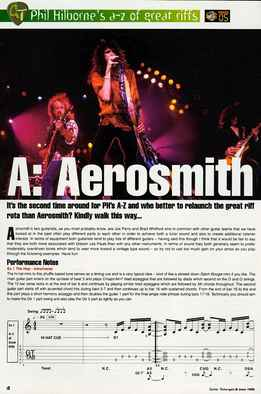 Phil Hilborne - A-Z Of Great Riffs - Aerosmith