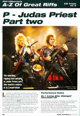 Phil Hilborne - A-Z Of Great Riffs - Judas Priest. Part 2