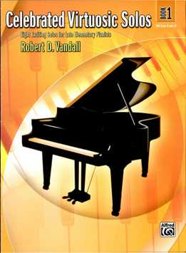 Robert Vandall - Celebrated Virtuosic Solos, Book 1