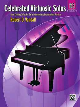 Robert Vandall - Celebrated Virtuosic Solos, Book 3