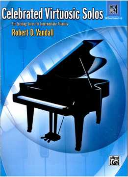 Robert Vandall - Celebrated Virtuosic Solos, Book 4