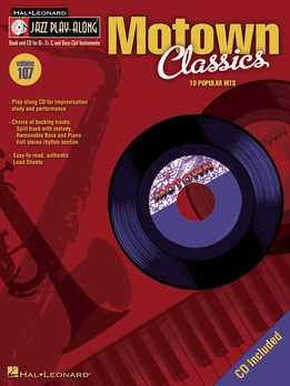 Jazz Play-Along Vol.107 - Motown Classics