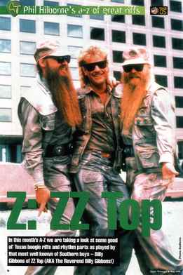 Phil Hilborne - A-Z Of Great Riffs - ZZ Top
