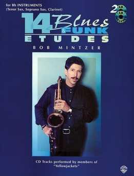 Bob Mintzer - 14 Blues & Funk Etudes (C,Bb,Eb)