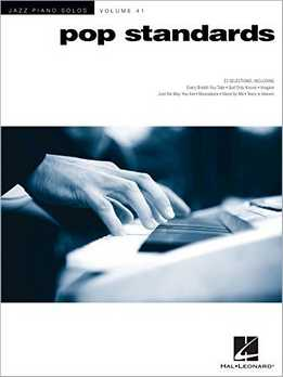 Jazz Piano Solos Vol. 41 - Pop Standards