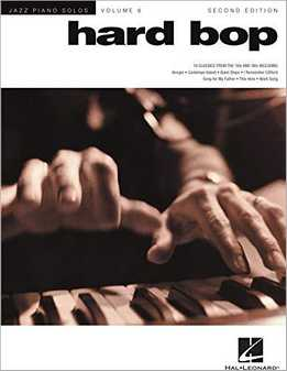 Jazz Piano Solos Vol.6 - Hard Bop