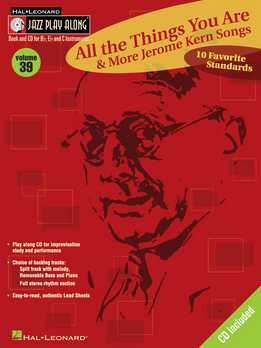 Jazz Play-Along Vol. 39 - All The Things You Are - Jerome Kern