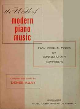 Denes Agay - The World Of Modern Piano Music