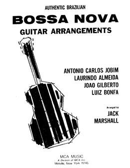 Jack Marshall-Authentic Brazilian Bossa Nova Guitar Arrangements-1985