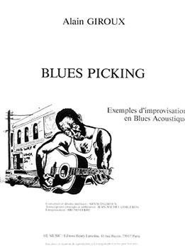Alain Giroux - Blues picking