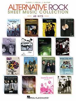 Alternative Rock Sheet Music Collection 40 Hits