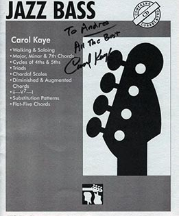 Carol Kaye - Jazz Bass