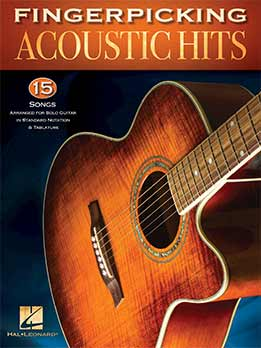 Chad Johnson - Fingerpicking Acoustic Hits 15 Songs Arranged For Solo Guitar