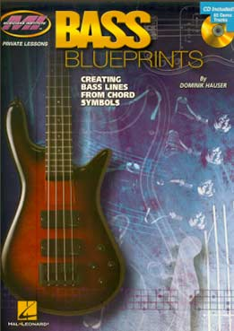 Dominik Hauser - Bass Blueprints. Creating Bass Lines From Chord Symbols