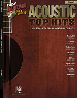 Easy Guitar Play Along Vol. 2 - Acoustic Top Hits