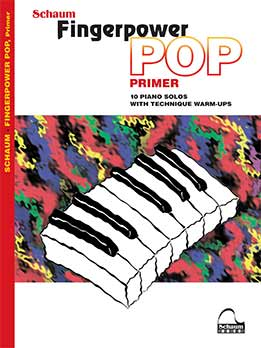 Fingerpower Pop - Primer 10 Piano Solos With Technique Warm-Ups Early To Mid-Elementary Level