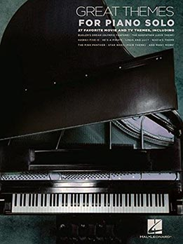 Great Themes For Piano Solo - 27 Movie and TV Themes