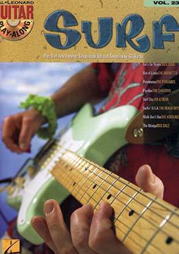 Guitar Play-Along Vol. 23 - Surf