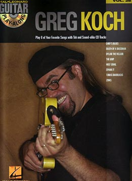 Guitar Play-Along Vol. 28 - Greg Koch