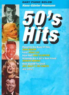 H.G. Heumann - 50's Hits - Easy Piano Solos