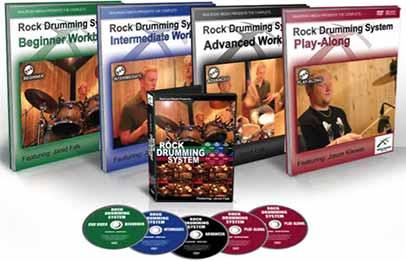 Jared Falk - Rock Drumming System Beginner + Intermediate + Advanced