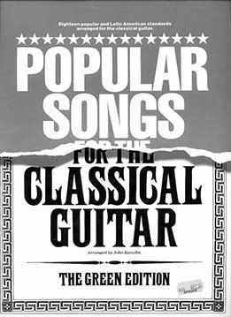 John Zaradin - Popular Songs For The Classical Guitar