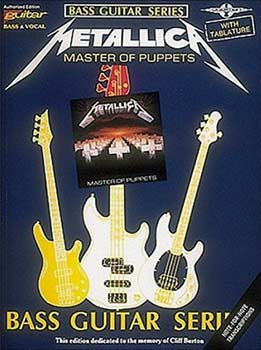 Metallica - Master Of Puppets - Bass Tablature