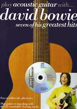 Play Acoustic Guitar With - David Bowie