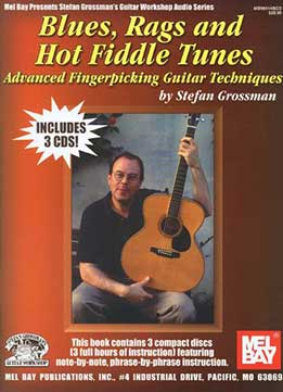 Stefan Grossman - Blues Rags And Hot Fiddles Tunes Book